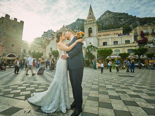 Il matrimonio di Marco e Vincenza a Taormina, Messina 76