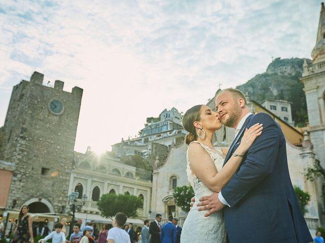 Il matrimonio di Marco e Vincenza a Taormina, Messina 78
