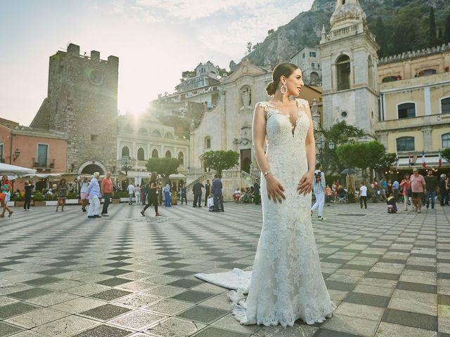 Il matrimonio di Marco e Vincenza a Taormina, Messina 79
