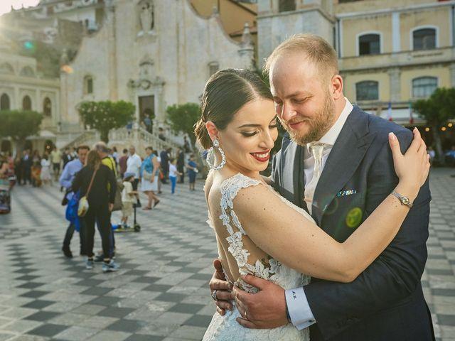 Il matrimonio di Marco e Vincenza a Taormina, Messina 80
