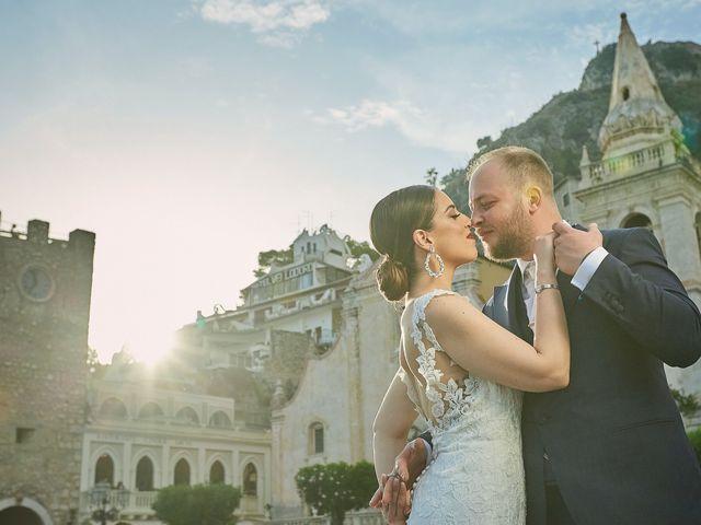 Il matrimonio di Marco e Vincenza a Taormina, Messina 81