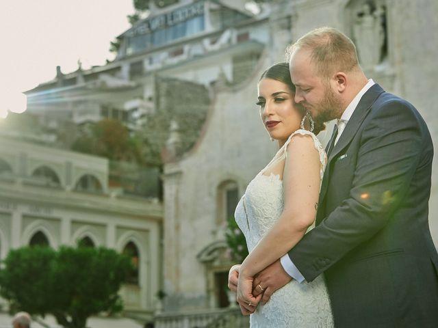Il matrimonio di Marco e Vincenza a Taormina, Messina 84