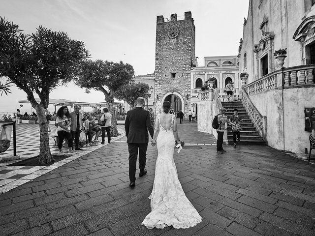 Il matrimonio di Marco e Vincenza a Taormina, Messina 86