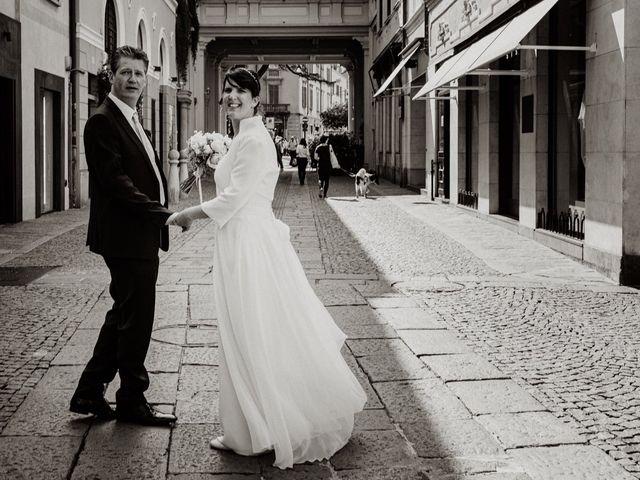 Il matrimonio di Stefano e Nicole a Varese, Varese 84
