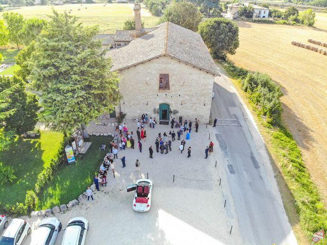 Il matrimonio di Guido e Lorenza a Scheggino, Perugia 21