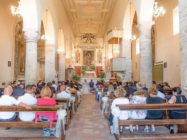 Il matrimonio di Guido e Lorenza a Scheggino, Perugia 22