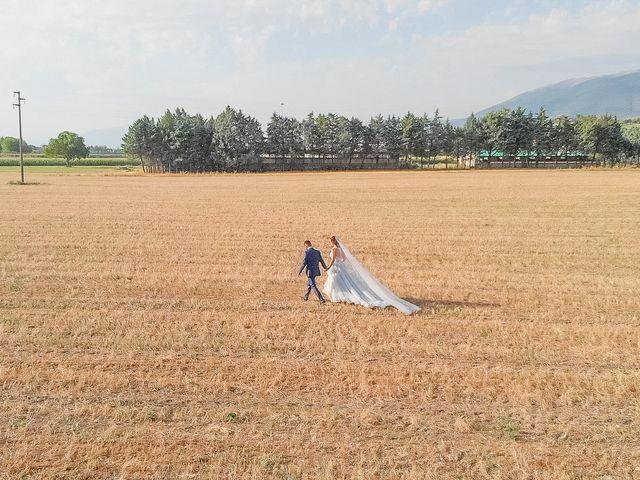 Il matrimonio di Guido e Lorenza a Scheggino, Perugia 29