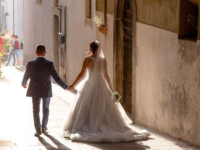 Il matrimonio di Guido e Lorenza a Scheggino, Perugia 34