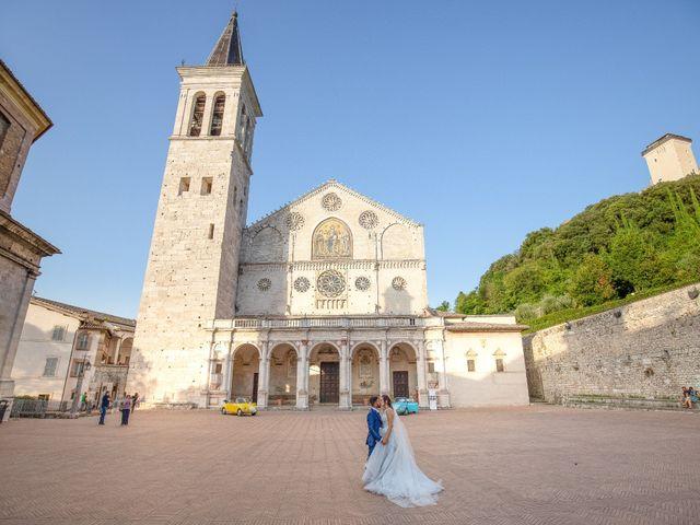 Il matrimonio di Guido e Lorenza a Scheggino, Perugia 35