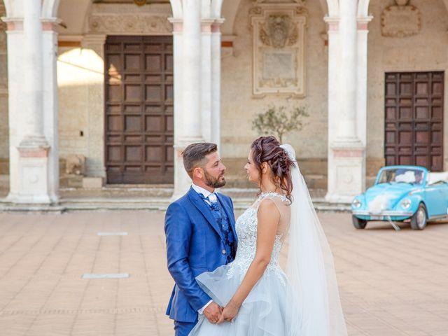 Il matrimonio di Guido e Lorenza a Scheggino, Perugia 36