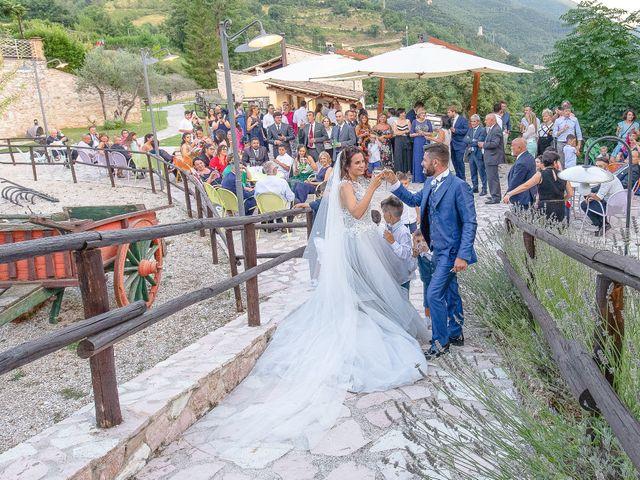 Il matrimonio di Guido e Lorenza a Scheggino, Perugia 39