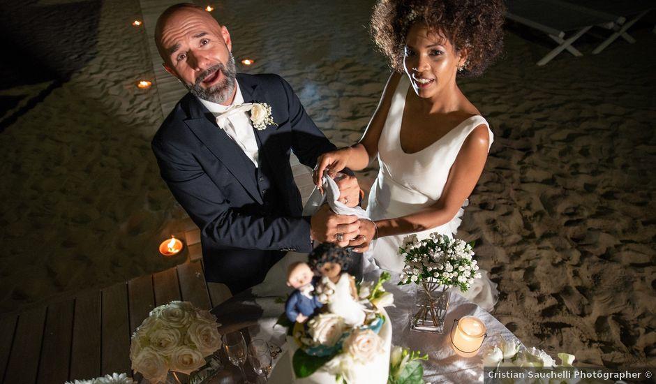 Il matrimonio di Andrea e Maria a Forte dei Marmi, Lucca