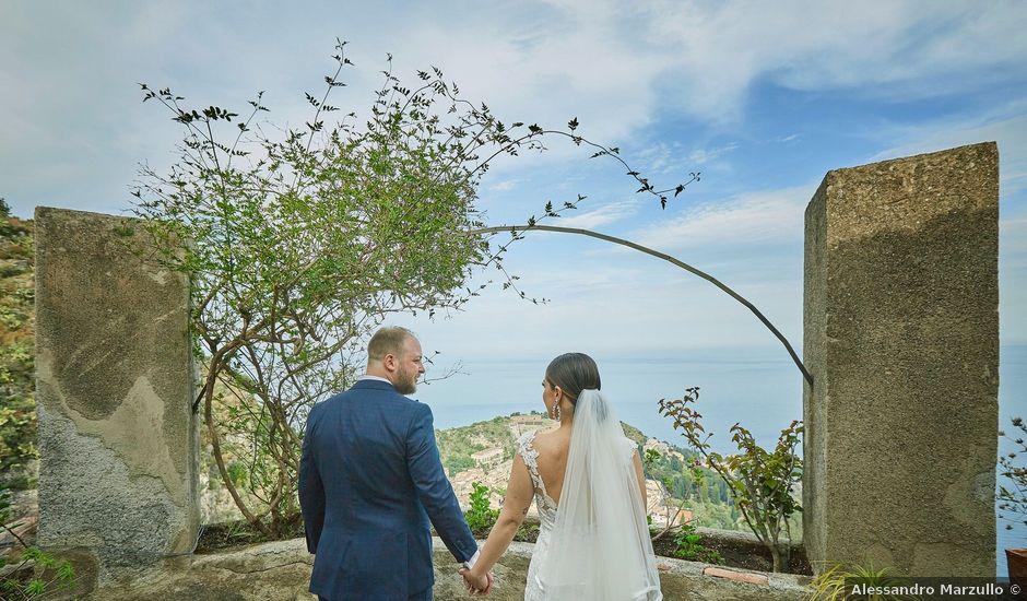 Il matrimonio di Marco e Vincenza a Taormina, Messina