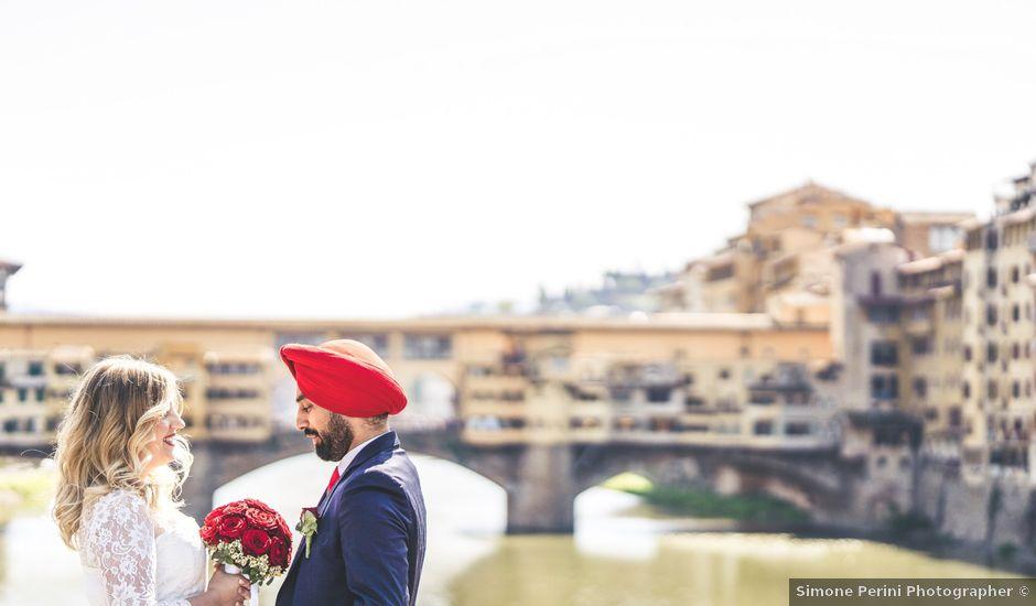Il matrimonio di Gurpreet e Jennifer a Firenze, Firenze