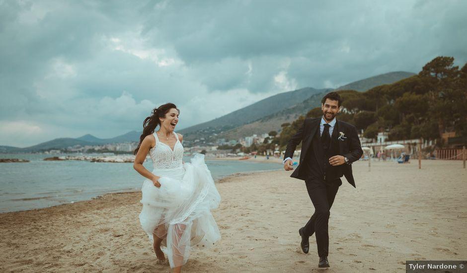 Il matrimonio di Andrea e Maria a Formia, Latina
