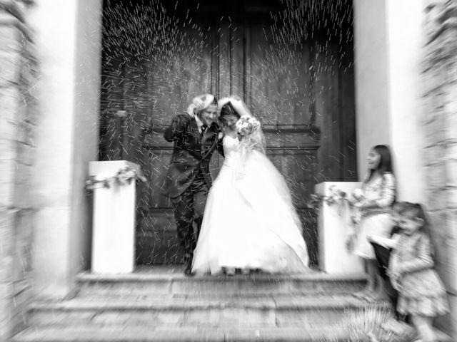 Il matrimonio di Daniele e Valantina a Gubbio, Perugia 23