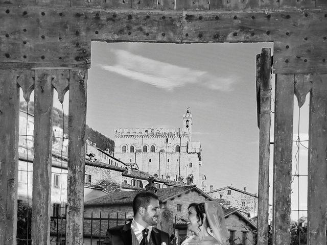 Il matrimonio di Daniele e Valantina a Gubbio, Perugia 28