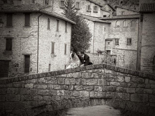 Il matrimonio di Daniele e Valantina a Gubbio, Perugia 30