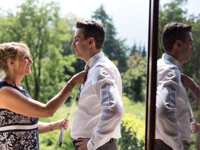 Il matrimonio di Marco e Gaia a Plesio, Como 8