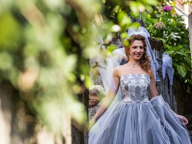 Il matrimonio di Marco e Gaia a Plesio, Como 36