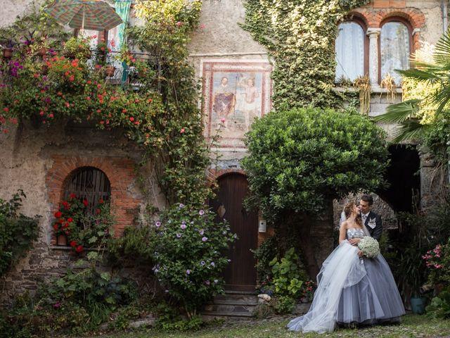 Il matrimonio di Marco e Gaia a Plesio, Como 40