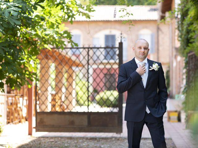 Il matrimonio di Davide e Rossella a Castell'Arquato, Piacenza 11