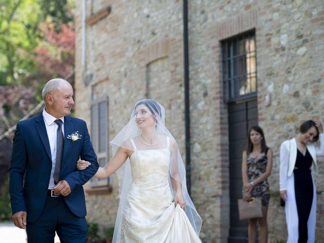 Il matrimonio di Davide e Rossella a Castell'Arquato, Piacenza 21