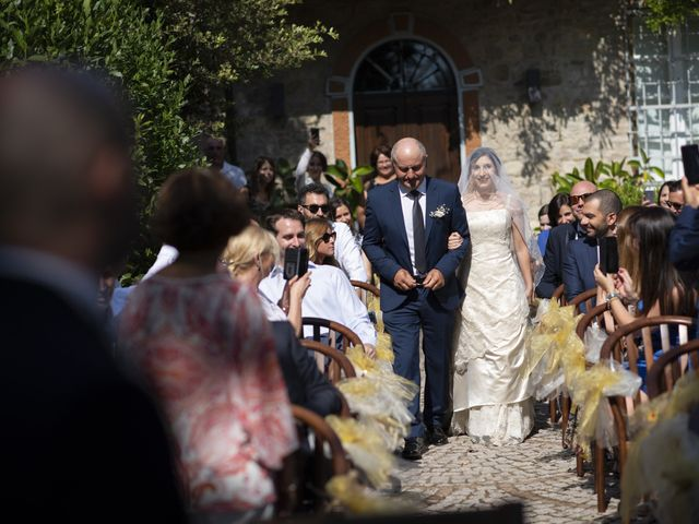 Il matrimonio di Davide e Rossella a Castell'Arquato, Piacenza 22
