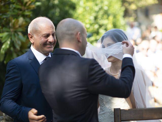Il matrimonio di Davide e Rossella a Castell'Arquato, Piacenza 23
