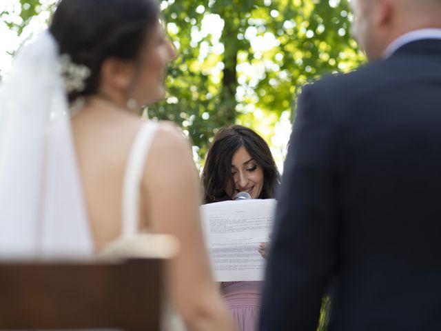 Il matrimonio di Davide e Rossella a Castell'Arquato, Piacenza 25