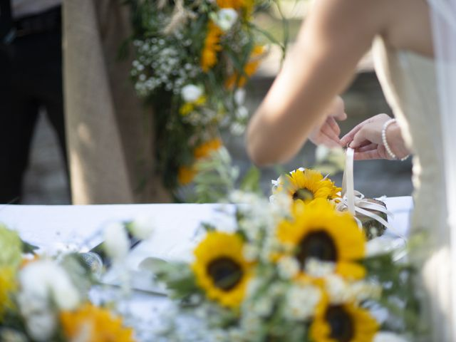 Il matrimonio di Davide e Rossella a Castell'Arquato, Piacenza 26
