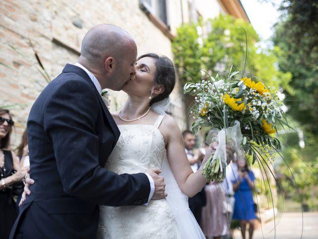 Il matrimonio di Davide e Rossella a Castell'Arquato, Piacenza 28