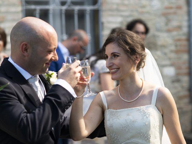 Il matrimonio di Davide e Rossella a Castell'Arquato, Piacenza 29