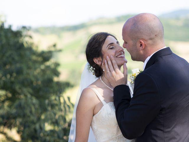 Il matrimonio di Davide e Rossella a Castell'Arquato, Piacenza 32
