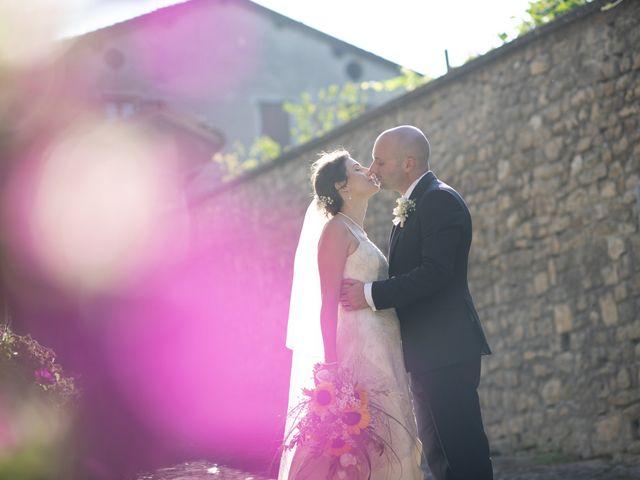 Il matrimonio di Davide e Rossella a Castell'Arquato, Piacenza 33