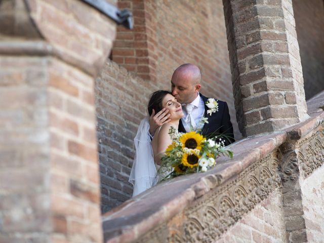 Il matrimonio di Davide e Rossella a Castell'Arquato, Piacenza 34