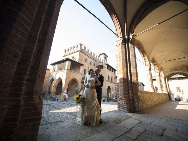 Il matrimonio di Davide e Rossella a Castell'Arquato, Piacenza 35