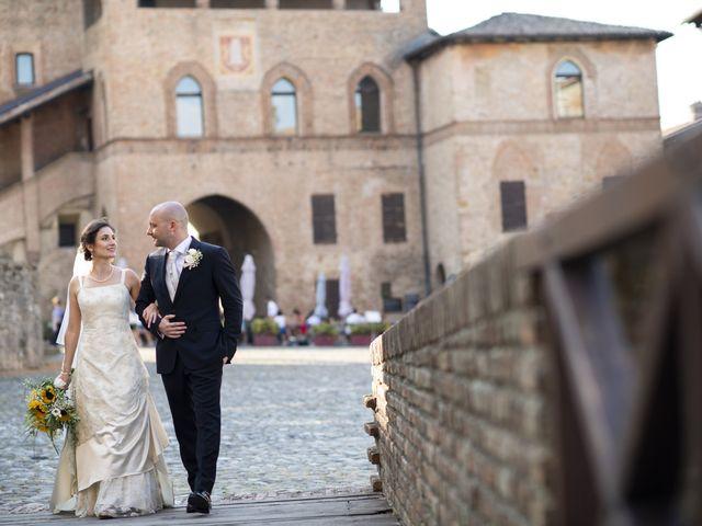 Il matrimonio di Davide e Rossella a Castell'Arquato, Piacenza 36