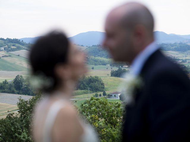 Il matrimonio di Davide e Rossella a Castell'Arquato, Piacenza 37