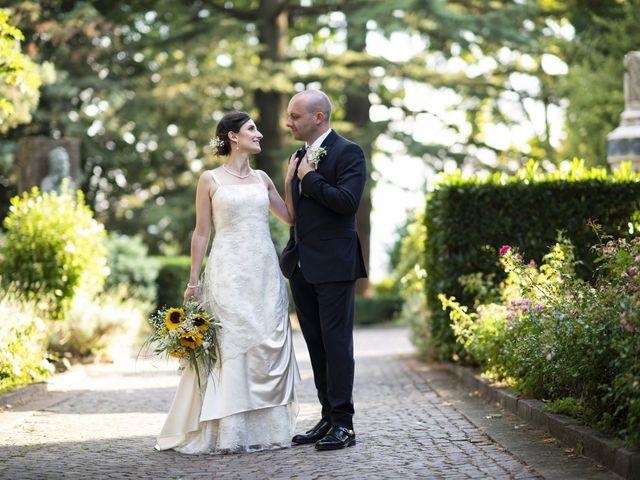 Il matrimonio di Davide e Rossella a Castell'Arquato, Piacenza 39