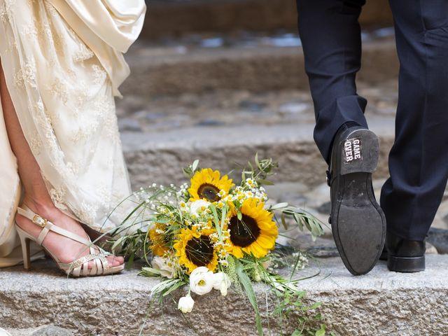 Il matrimonio di Davide e Rossella a Castell'Arquato, Piacenza 42