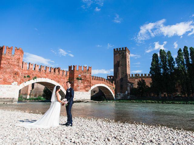Il matrimonio di Luca e Lisa a Verona, Verona 71