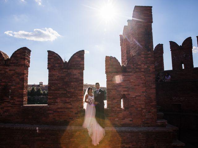 Il matrimonio di Luca e Lisa a Verona, Verona 76