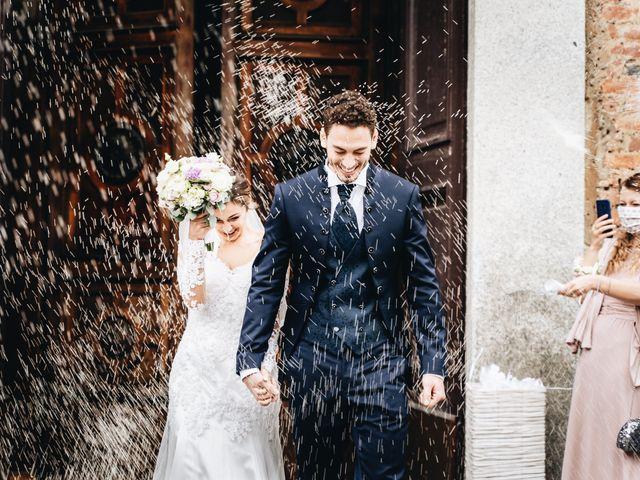 Le nozze di Sasha e Davide