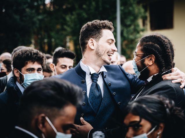 Il matrimonio di Davide e Sasha a Milano, Milano 38