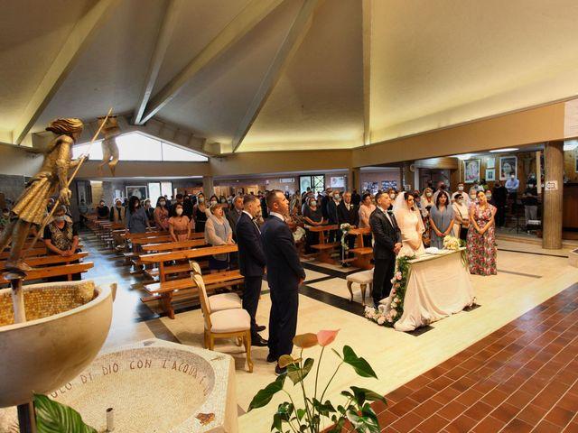 Il matrimonio di Giuseppe e Rebecca a Castel Gandolfo, Roma 9