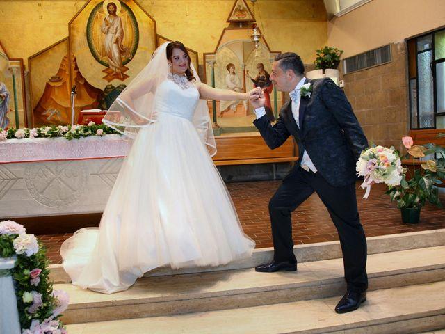 Il matrimonio di Giuseppe e Rebecca a Castel Gandolfo, Roma 10