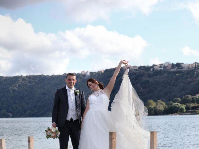 Il matrimonio di Giuseppe e Rebecca a Castel Gandolfo, Roma 16
