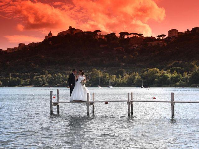 Il matrimonio di Giuseppe e Rebecca a Castel Gandolfo, Roma 17