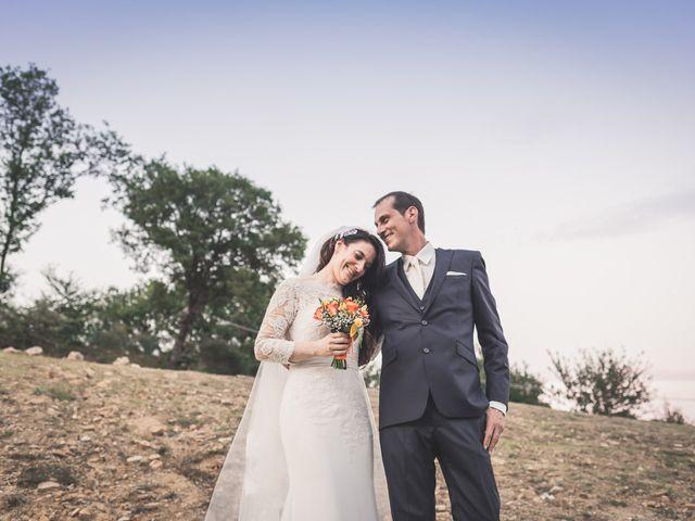 le nozze di Alessandra e Vasco